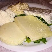 Taverna Vakchos. Ассорти греческих сыров