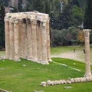 Афины. Храм Зевса Олимпийского