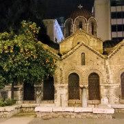 Афины. Церковь Панагия Капникарея