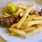Pork souvlaki - Шашлык из свинины