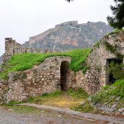 Крепость Паламиди. Нафплио. Греция