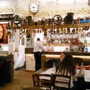 Ресторан Rustico. Интерьер