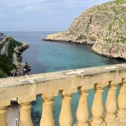 Hotel San Andrea - Вид на залив с террасы
