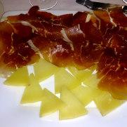 Ресторан Las Viandes. Хамон и сыр