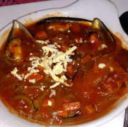 Ресторан Beasol. Суп из морепродуктов