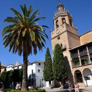 Ронда. Ла Сьюдад. Церковь Санта Мария ла Майор