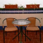 Гостиница Los Cantaros. Балкон