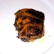 Ресторан Eslava. Филе говядины запеченое на жженом чесноке