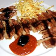 Ресторан Eslava. Утиная грудка с сидром и медовым соусом