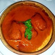 Ресторан Charolais. Треска в томатном соусе