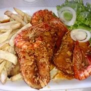 Ресторан Costa do Sol. Рыба