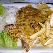 Ресторан Costa do Sol. Мясо