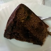 Ресторан Rosa. Шоколадный торт