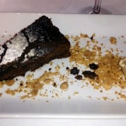 Ресторан Alcides. Десерт