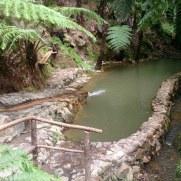 Термальная ванна. Кальдера Велья. Сан Мигель