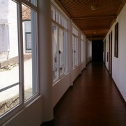 Гостиница Прая де Лобос. Корридор