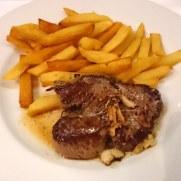 Ресторан Brasserie. Филе говядины