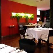 Ресторан Brasserie. Интерьер