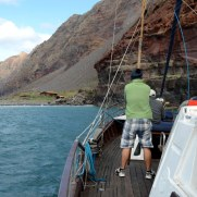 Бухта. Остров Дезерта Гранде. Мадейра, 2015