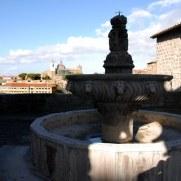 Фонтан у Папского дворца. Витербо. Италия, 2010