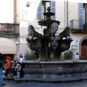 Фонтан Святого Стефана. Витербо. Италия, 2010