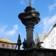 Большой фонтан. Витербо. Италия, 2010