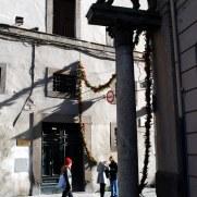 На улицах города. Витербо. Италия, 2010