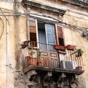 Балкон. Сиракуза. Сицилия, 2010