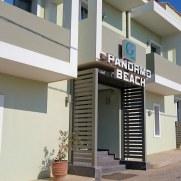 Гостиница Panormo Beach. Фасад