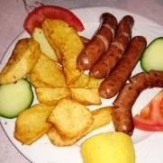 Таверна Kastro. Традиционные колбаски