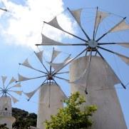Ветряные мельницы. Плато Ласити. Крит, 2015