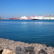 Новый порт. Ираклион. Крит, 2015