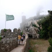 Мавританский замок. Синтра, Португалия. 2010