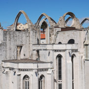 Конвенту ду Карму. Лиссабон, Португалия. 2010