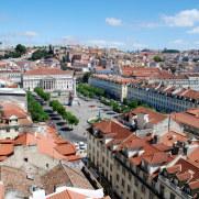 Площадь Россио. Лиссабон, Португалия. 2010