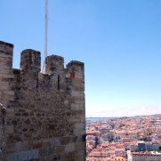Замок Сан Жорже. Лиссабон, Португалия. 2010