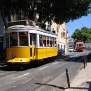 Трамвай. Лиссабон, Португалия. 2010
