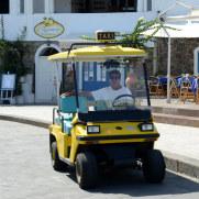 Такси. Панареа. Липарские острова. Италия. 2015