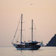 Вечер на Стромболи. Липарские острова. Италия. 2015