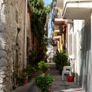 На улицах города. Липари. Италия, 2015