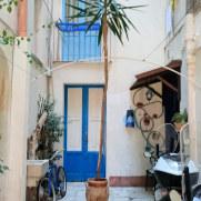 Апартаменты Cielomare. Внутренний двор