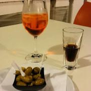 Ресторан Il Paguro. Дижестивы
