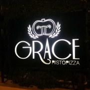 Ресторан Grace. Вывеска
