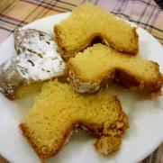 Пиццерия La Scaletta. Рождественский кекс