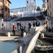 Площадь Испании. Рим. 2015