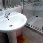 Гостиница Molinos. Ванная