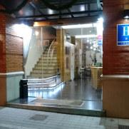 Гостиница Molinos. Вход
