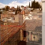 Гостиница Molinos. Вид из окна