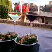 Ресторан Aben Humeya. Вид на Альгамбру