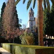 Церковь Святой Марии. Альгамбра. Гранада, Испания, 2015